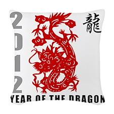 dragon61light Woven Throw Pillow