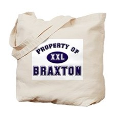 Property of braxton Tote Bag