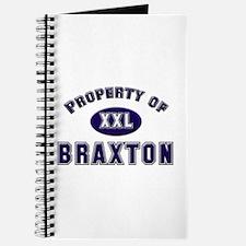 Property of braxton Journal