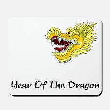 dragon60red Mousepad