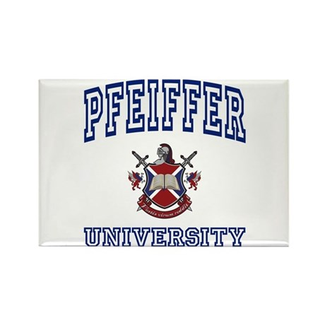 PFEIFFER University Rectangle Magnet (100 pack)