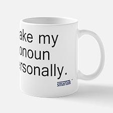 personal pronoun copy Mug