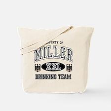 Miller German Drinking Team Tote Bag