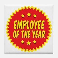 employee-of-the-year-001 Tile Coaster