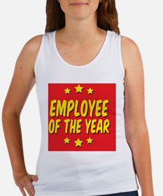 employee-of-the-year-button-001 Women's Tank Top