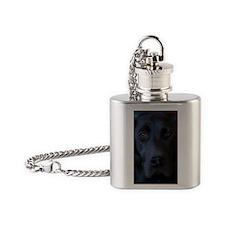 BlackLab2-5x3-5 Flask Necklace
