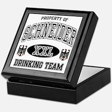 Schneider German Drinking Team Keepsake Box