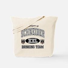 Schneider German Drinking Team Tote Bag