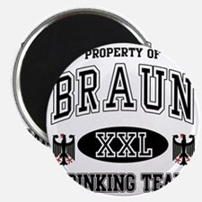 Braun German Drinking Team Magnet