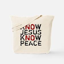 KnowJesus Tote Bag