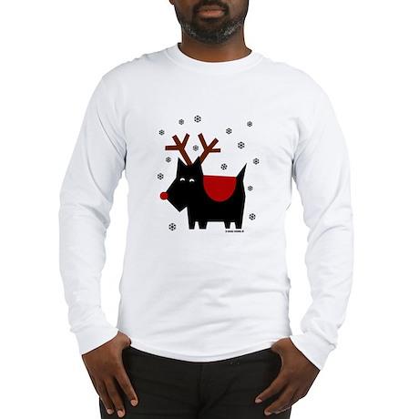 SCOTTIE REINDEER (Long Sleeve T-Shirt)