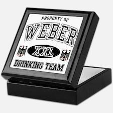 Weber German Drinking Team Keepsake Box
