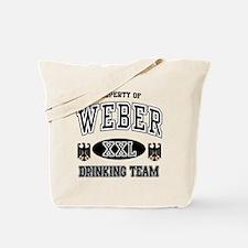 Weber German Drinking Team Tote Bag