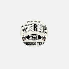 Weber German Drinking Team Mini Button