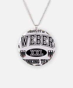 Weber German Drinking Team Necklace Circle Charm