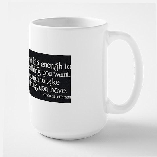 Jefferson_BigGovt Large Mug