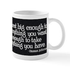 Jefferson_BigGovt Small Small Mug