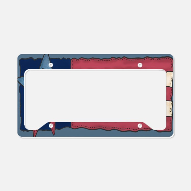 us License Plate Holder