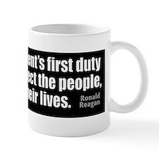 bumper-RR-newsz_FirstDuty Small Small Mug