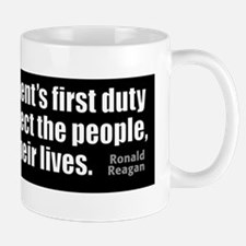 bumper-RR-newsz_FirstDuty Small Small Mug