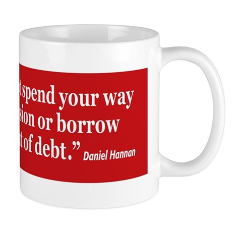 BorrowWayOutOfDebt Mug