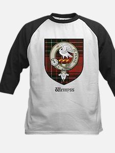 Wemyss Clan Crest Tartan Tee