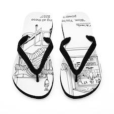 6408_tools_cartoon Flip Flops