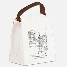 6408_tools_cartoon Canvas Lunch Bag