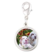 LucyDolly Silver Round Charm