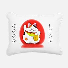 Good_Luck_Maneki_Neko_li Rectangular Canvas Pillow
