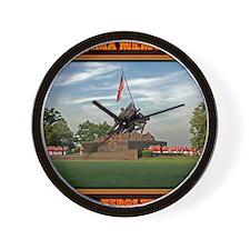 Iwo Jima Memorial Wall Clock
