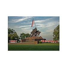 Iwo Jima Memorial Rectangle Magnet