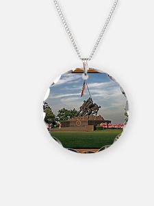 Iwo Jima Memorial Necklace