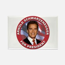 Arnold Schwarzenegger for President Rectangle Magn