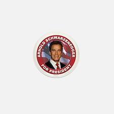 Arnold Schwarzenegger for President Mini Button