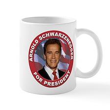 Arnold Schwarzenegger for President Mug
