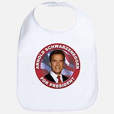 Arnold Schwarzenegger for President Bib