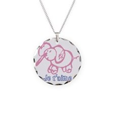 PinkElephant Necklace