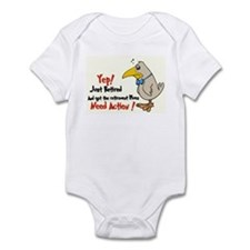 Yep Need Action! :-) Infant Bodysuit