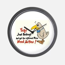 Yep Need Action! :-) Wall Clock