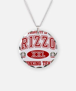 Rizzoi Italian Drinking Team Necklace Circle Charm