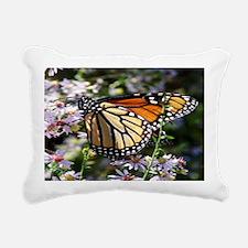 Monarch Butterfly Rectangular Canvas Pillow