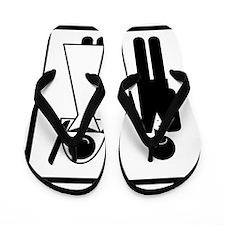 game-over-groom-v1 Flip Flops