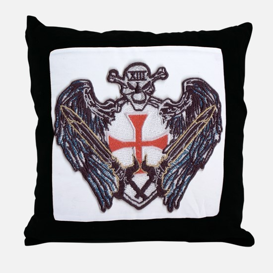 Centre Patch Small Throw Pillow