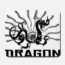 dragon38red Mousepad