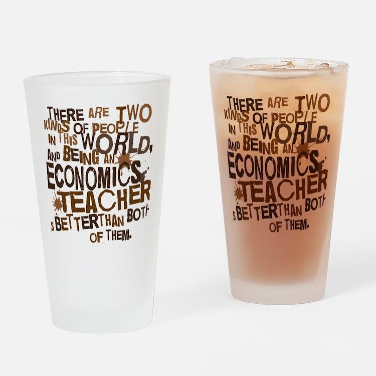 economicsteacherbrown Drinking Glass