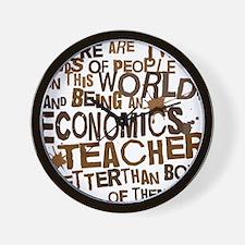 economicsteacherbrown Wall Clock