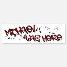 MICHAELW Bumper Bumper Sticker