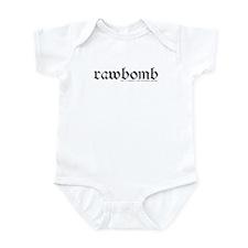 rawbomb Infant Bodysuit