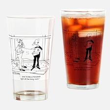 6342_building_cartoon Drinking Glass